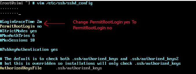 SSH Server configuration File