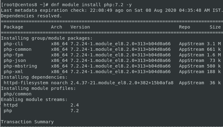 Install Php 7.2 In Inginx Http Web Server