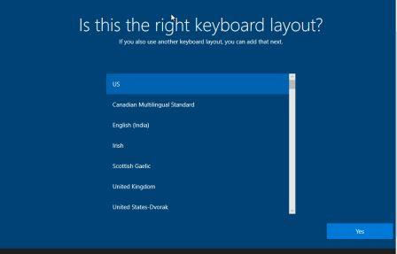 choose keyboard how to install windows 10 from Pendrive