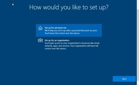 How would you like to set up how to install windows 10 from Pendrive