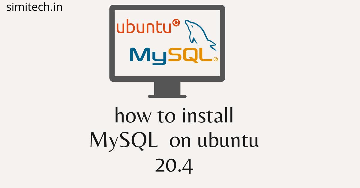Install MySQL In Ubuntu