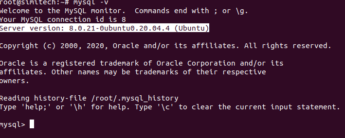 Check Ubuntu MySQL Version