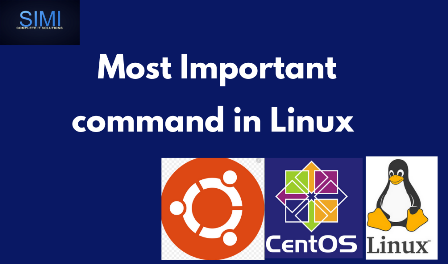 most important command in linux