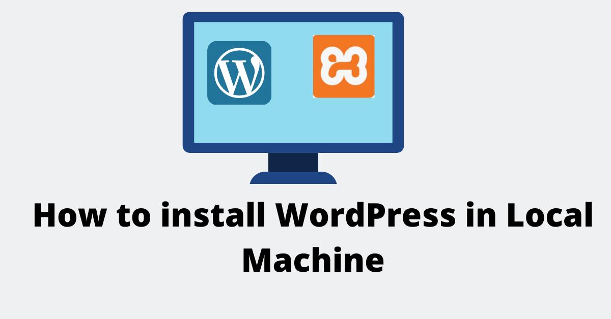 How to install WordPress in Windows 10