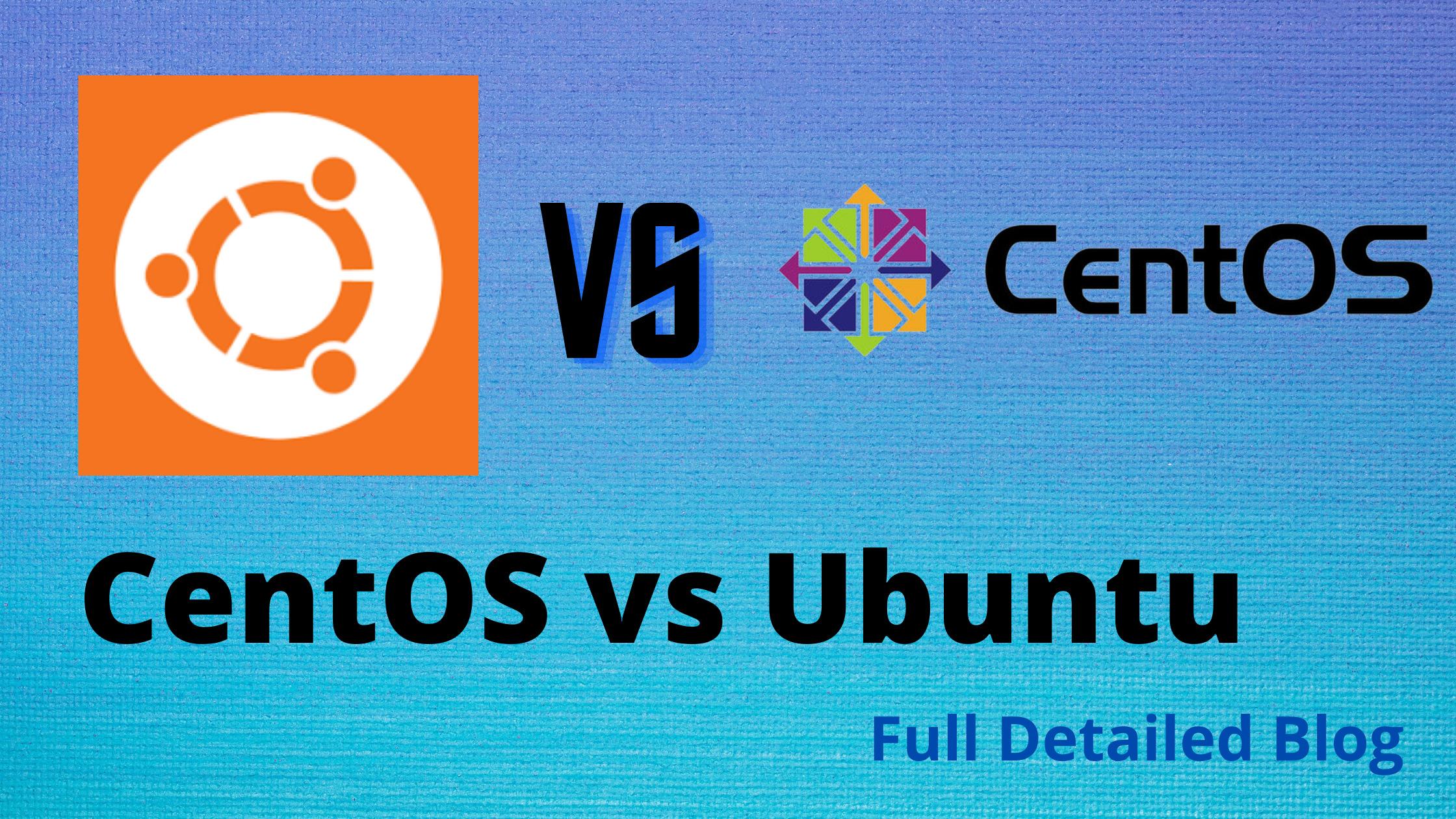 CentOS vs Ubuntu