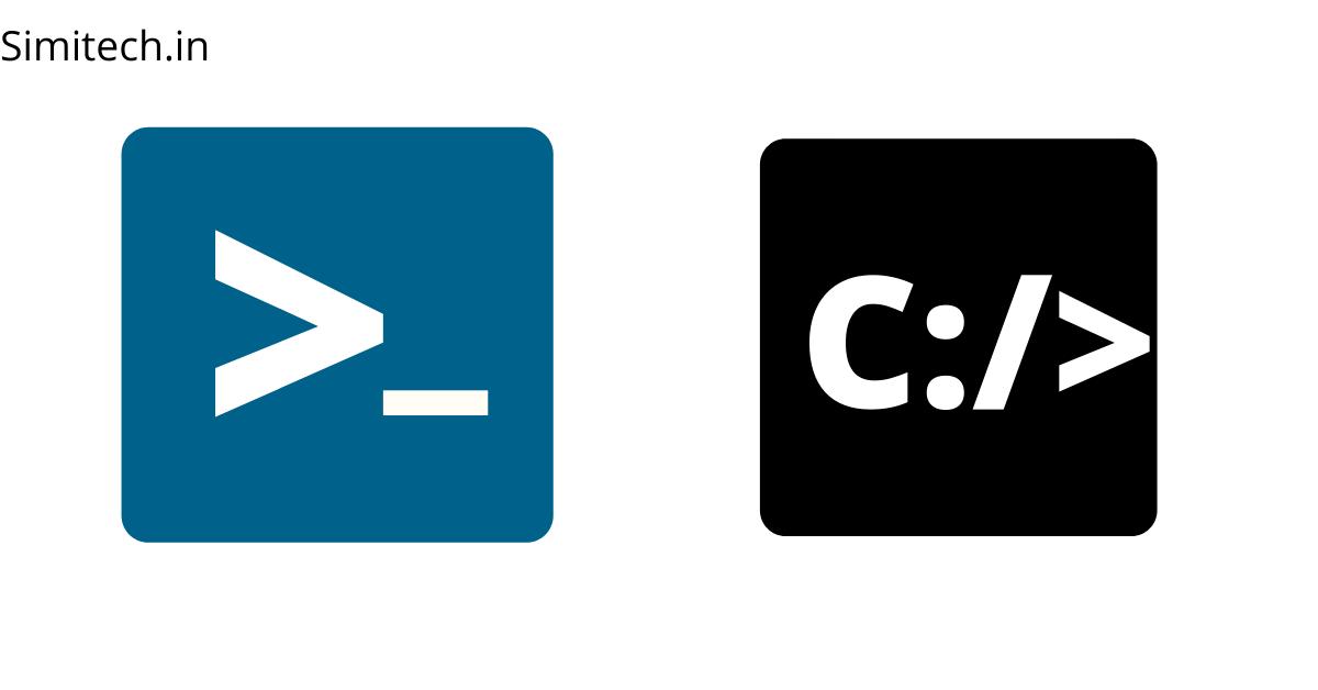 powershell vs cmd